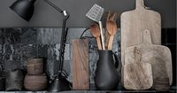 Matte Black - Claire Brody Designs (Is that overkill?) I think contrasting itself is a contrast, no? This look is going to be VERY modern. Lovely, but modern, which isn't for everyone. It can be done by contrasting with more matte or with a ...