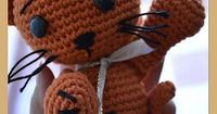 Ravelry: Rusty the cat pattern by OptiMystic by me