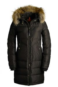 Parajumpers Light Long Bear Woman Outerwear Brown Clearance pjsparajumperssale.net