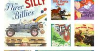 Our favorite versions of The Three Billy Goats Gruff books including variations of the story.