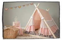 Love these teepees so much - would add a bit of softness to a modern playroom.