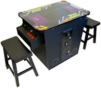 412 Games in 1 Cocktail Arcade