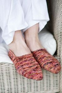 Churchmouse Yarns & Teas - Turkish Bed Socks Pattern