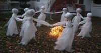 """A different spin on the usual """"ghost"""" circle, little spookier"""