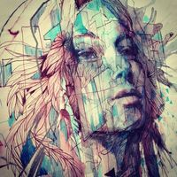 Milan to Munich by Carne Griffiths, via Behance: you know what? traditional arts is still the way of the gods