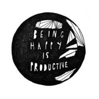 happiness is key to productivity. totally believe this.