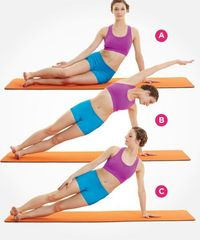 This Pilates move look simple, but it totally sculpts your waistline. Try this one--and 8 more awesome exercises that help flatten your stomach: http://www.womenshealthmag.com/fitness/pilates-abs?cm mmc=Pinterest- -womenshealth- -content-fitness- -9pilate...