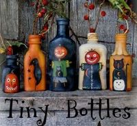 FALL TINY PAINTED BOTTLES