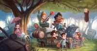 (tags: Firefly) The Littlest Browncoats... that's so stinkin' cute, especially Zoe and Wash