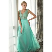 Vivienne by June Peony - Floor V-Neck Occasions - Bridesmaid Dress Online Shop