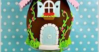 Easter Egg House Cake - by CecileCrabot