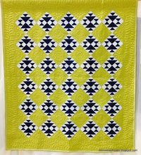 I like the simplicity of this classic design, but I don't have the skills to do the amazing quilting : ( - p.h.