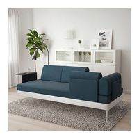 IKEA Sofa with reconfiguration, lamp, and side table attached $650-850