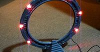 """You might not jump to another world, but with this """"working"""" 3D-printed Stargate, you can pretend."""