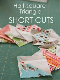 Southern Fabric: Triangle Tips.