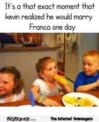 Funny when he realized he would marry her one day #humor #lol #funny #PMSLweb