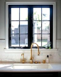 brass is back�€� did we already say that? It looks so refreshing after all the years of chrome and oiled bronze!