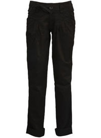 Dorothy Perkins Black twill cuff hem trousers Cotton twill relaxed fit trouser, with cuff hem detailing which can be worn turned up or down. 100% Cotton. Machine washable. http://www.comparestoreprices.co.uk//dorothy-perkins-black-twill-cuff-hem-trous...