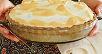Butterscotch Meringue Pie with Pecan Crust   We won't revoke your pie credentials if you use a purchased piecrust in this recipe, but we love the way the homemade crust's earthy flavor elevates the caramel filling so much that we recommend you giv...
