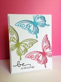 Card by Lisa | using Simon Says Stamp dies