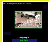 free building plans for outdoor furniture
