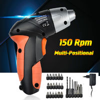 24 PCS 4.8 V Electric Screwdriver Rechargeable Battery Cordless Screw Driver Drill Bits Set