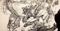 Katsuya Terada is an illustrator from Japan concentrating on detail driven sketchbook-like artworks. A prolific artist, he has done more than 1000 sketches
