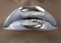 Tin foil? I love it when my lips could pass as a baked tato!