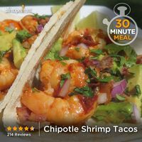 """Chipotle Shrimp Tacos 