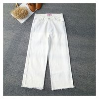 Must-have Oversized Fringe Pocket Zipper Up Cowboy Buttons Long Trouser - Discount Fashion in beenono
