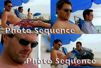"Michael Shanks Jeffrey Donovan ""Burn Notice"" PHOTO Sequence #02"