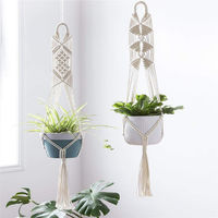 Macramé Cotton Hand Made Plant Holder $0