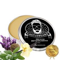 'Weekend Rum' Vanilla Lavender Natural Beard Balm 2oz $14.99