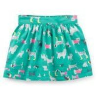 With built-in shorts, she can jump, twirl and cartwheel around all day in this pretty skirt. <br>