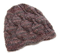 Embossed Leaves Hat