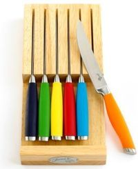 Colorful steak knives http://rstyle.me/~1i52T