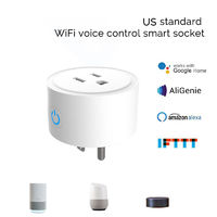 10A 2200W US Standard Smart WiFi Socket Mobile Phone Timer Switch Socket Remote Control Smart Home