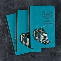 It's not what you look at that matters. It's what you see. -Henry David Thoreau. Write Now Journal. $6.95