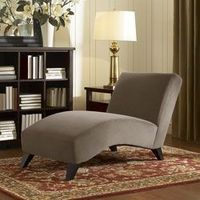 With sturdy hardwood legs and comfortable curves this Bella Chaise sofa is a unique and striking seating solution. The gorgeous chaise is featured in a soft taupe color to blend in with your home decor....i think im gonna get this for my living room:)
