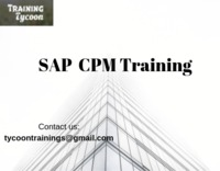 SAP CPM Training stands for SAP Commercial Project management training. SAP CPM present project-based services to their consumers provided solutions by core production process provisions of companies. Project work-space is a division of SAP commercial pro...