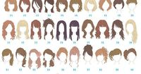 fractalnightmare: princess-peachie: hinomaru721: Which one is your hairstyle?? 48! ^u^ Merida