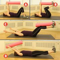 Tighten your core with this foam roller exercise and more surprisingly effective ways to use this priceless fitness tool: http://www.womenshealthmag.com/fitness/foam-roller-workout?cm mmc=Twitter- -womenshealth- -content-fitness- -foamrollerworkout