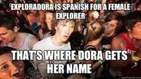 Sudden Clarity Clarence on Dora the Explorer