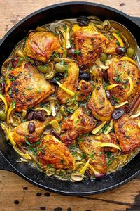 This rich and fragrant chicken stew is laden with complex flavors and spices reminiscent of the sort you might encounter in a mountainside cafe in Morocco Save