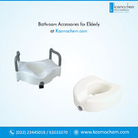 Most of the elderly accidents have been accounted in bathrooms. Thus it becomes a necessity to provide bathroom accessories for elderly people. Kosmochem with its 20 years of experience focus providing best and durable bathroom accessories like plastic gl...