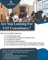 VAT Consultancy.jpeg For further info please contact us  +968 9240 2888