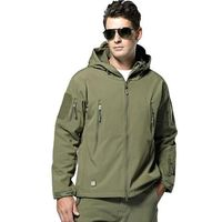 MEN'S ARMY MILITARY SPECIAL OPS SOFTSHELL TACTICAL JACKET