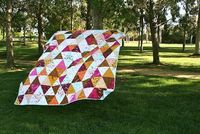 Mendocino Quilt I love! Might make this for myself.