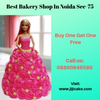 we are one of the best cake shop in noida sec-75, we are serve fresh & eggless cake with best offer price. now we are offer you BUY ONE GET ONE FREE..........For limited time period Get more information Visit : www.jijicake.com Call us : 8860646580