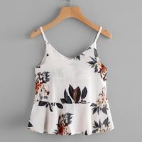 2017 Summer Chiffon Floral printing Blouse Women Casual Sleeveless Crop Top Vest Tank Shirt Cami Top Camisoles White Black $16.99 Women's Wholesale Fashion Outlet NOW SHIPPING WORLD WIDE !!! Download our mobile app @ http://mobincube.mobi/5HHP29